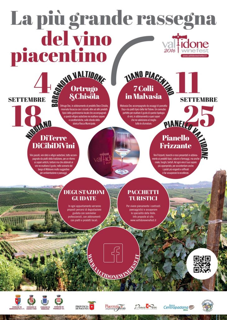 Locandina del Valtidone Wine Festival